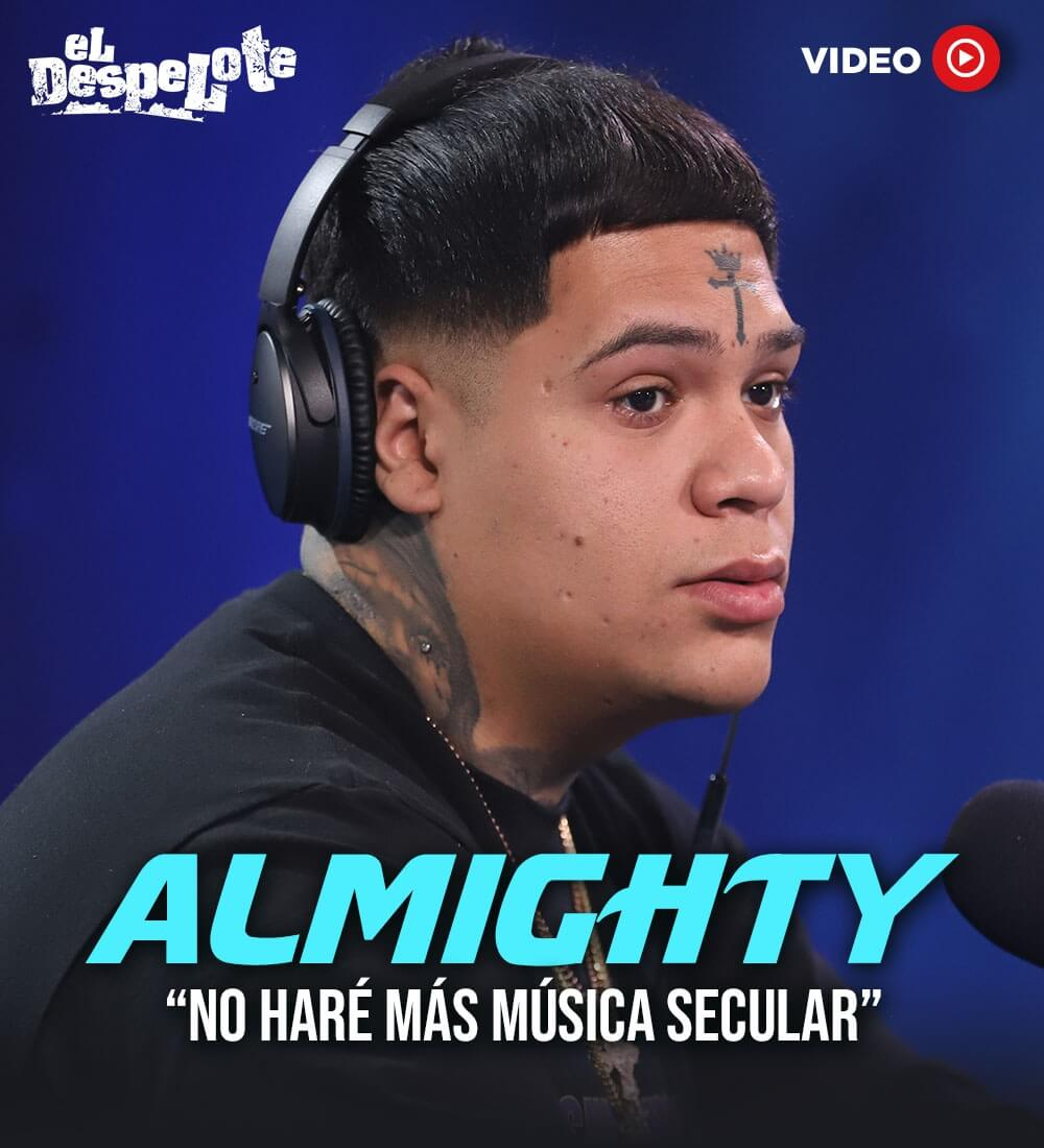 "Almighty: ""I Won't Do More Secular Music"""