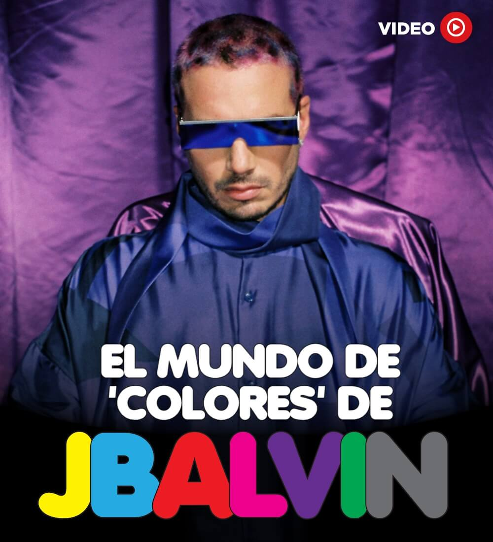 Inside The 'Colorful' World Of J Balvin's New Album