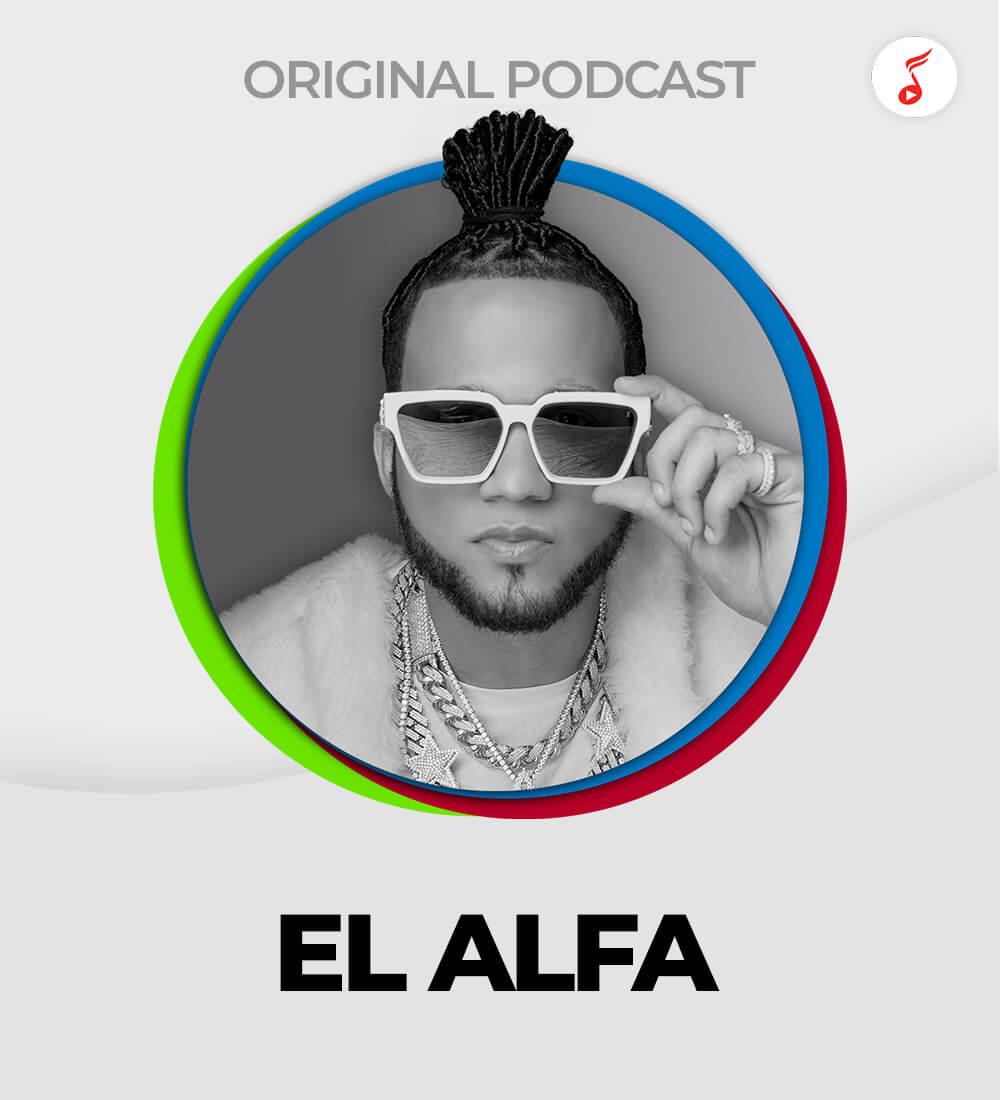 LaMusica Original Podcast Con El Alfa Desde Miami, FL