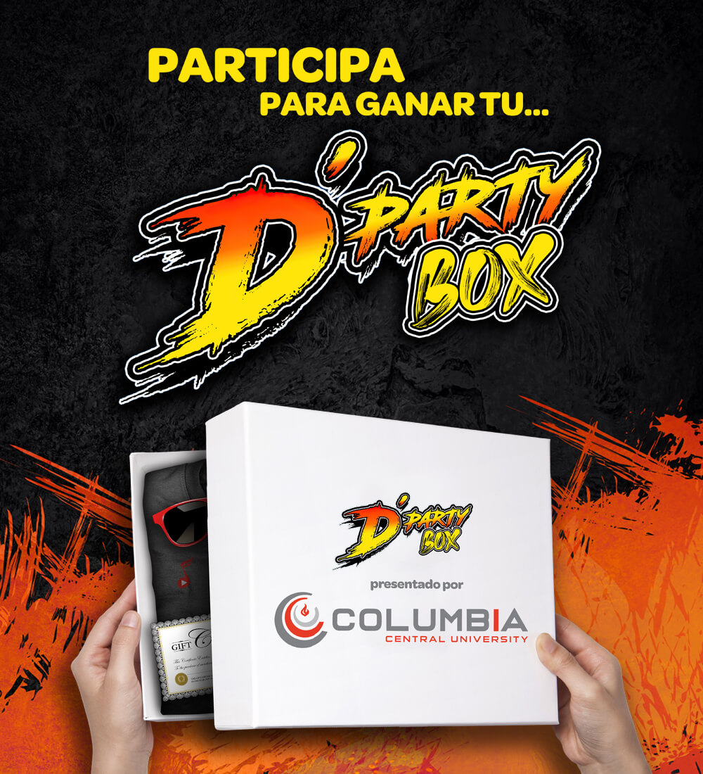 Gana un D'Party Box
