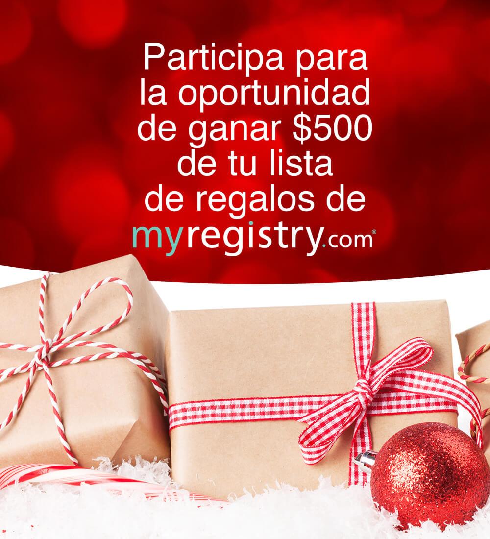 Win $500 Courtesy of MyRegistry.com