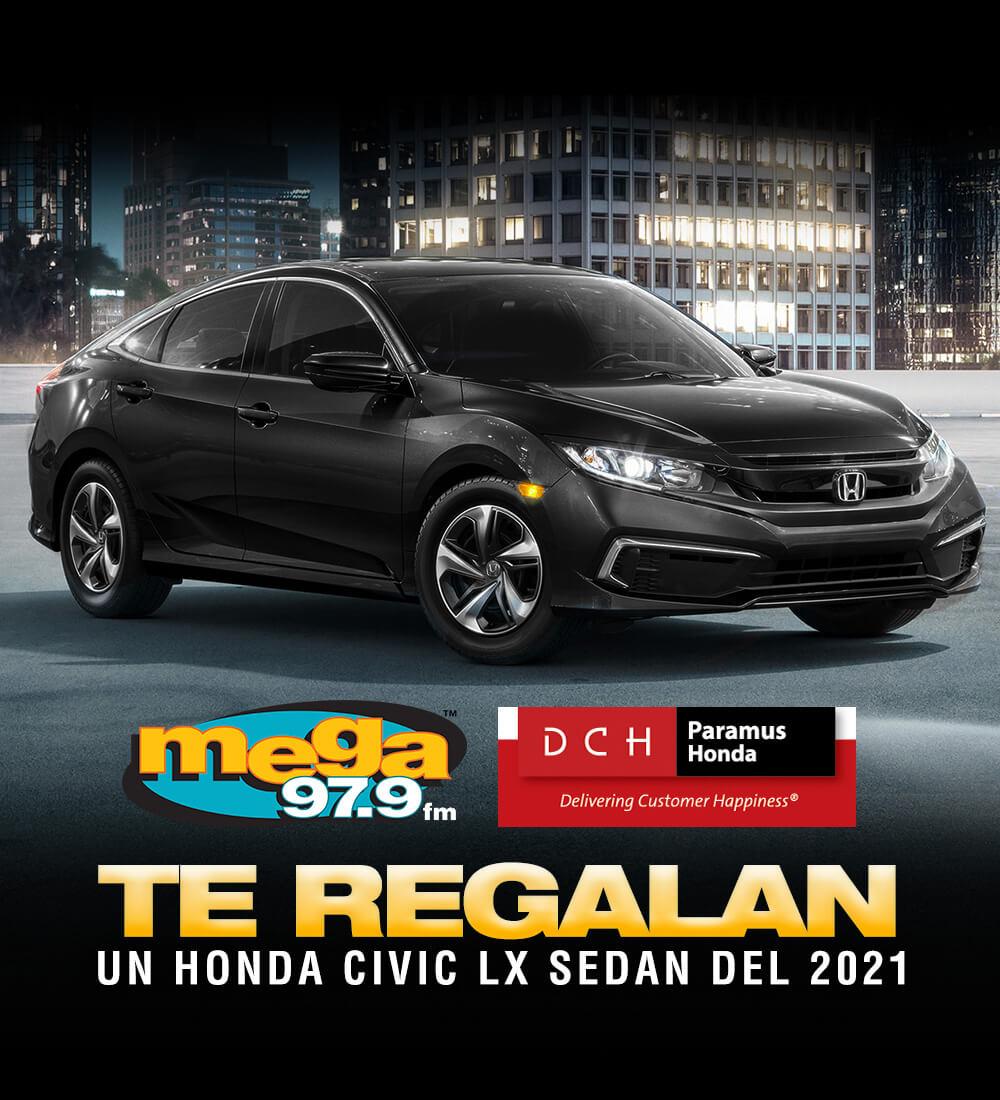 Win a 2021 Honda Civic LX - Enter Here