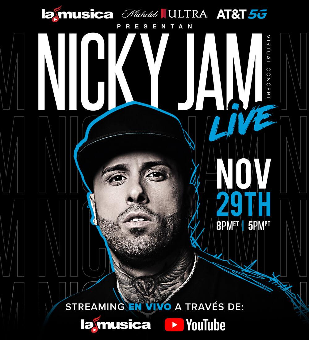 Nicky Jam LIVE