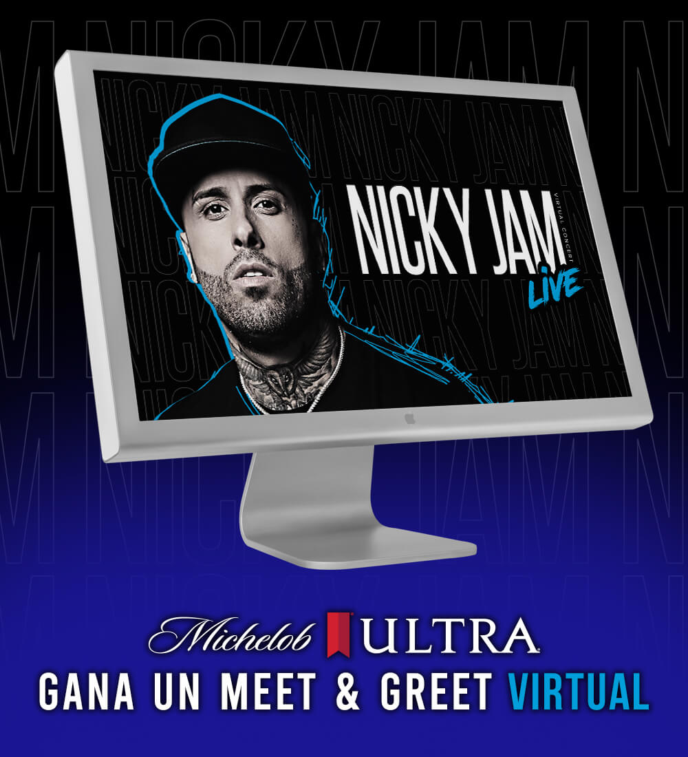 Gana Un Meet and Greet Virtual con Nicky Jam