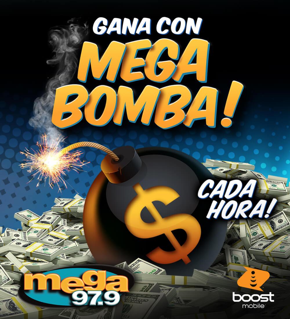 Gana con Mega Bomba!