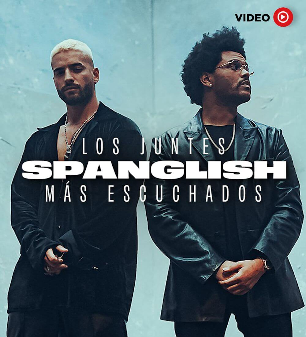 The Most Listened Spanglish Jams