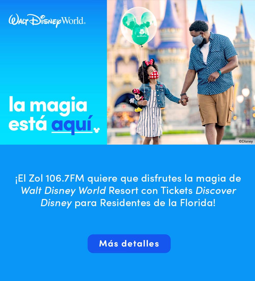 Gana un viaje a Walt Disney World Resort!