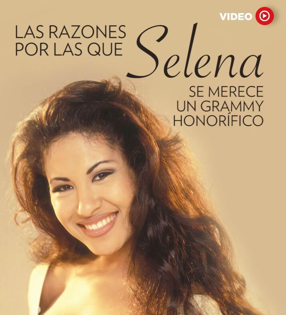 Las Razones Por Las Que Selena Se Merece Un Grammy Honorífico