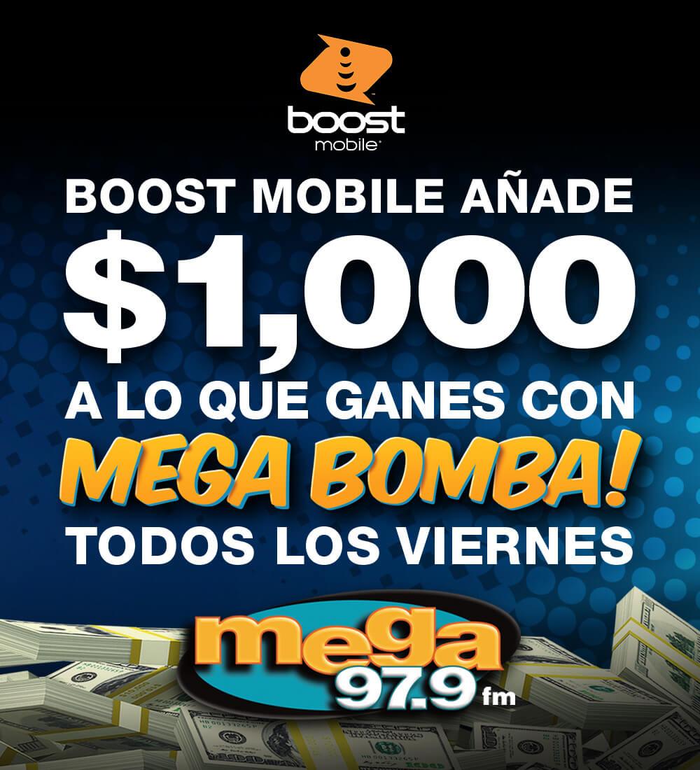 Mega Bomba! Boost
