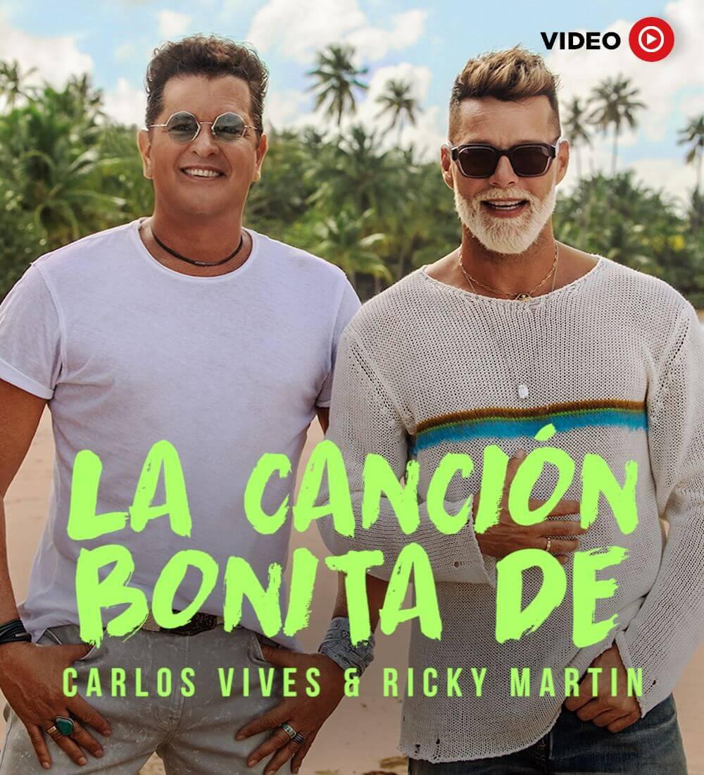 Carlos Vives & Ricky Martin Sing A Pretty Tune