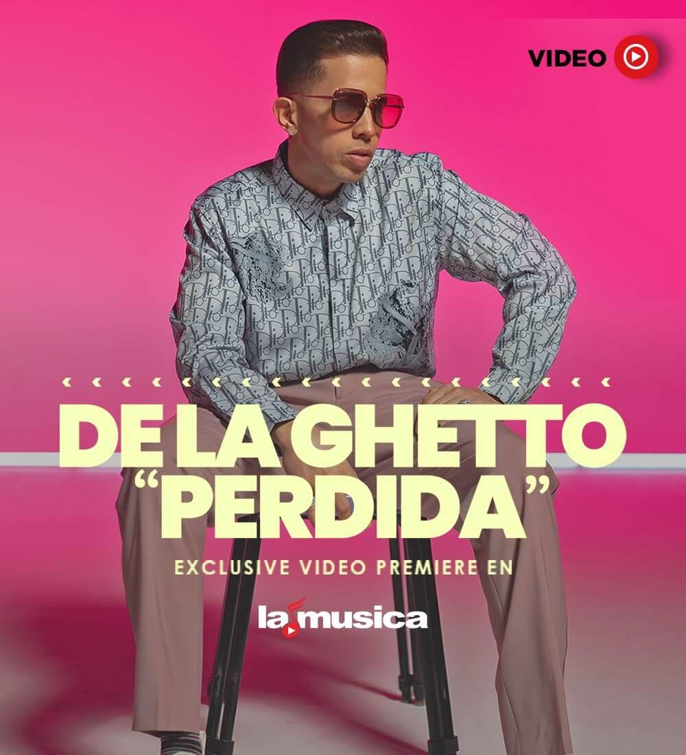 """World Premiere: De La Ghetto """"Perdida"""""""