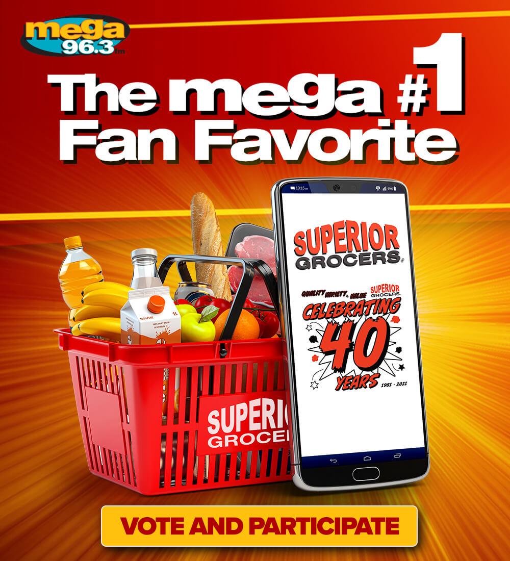 The Mega #1 Fan Favorite!