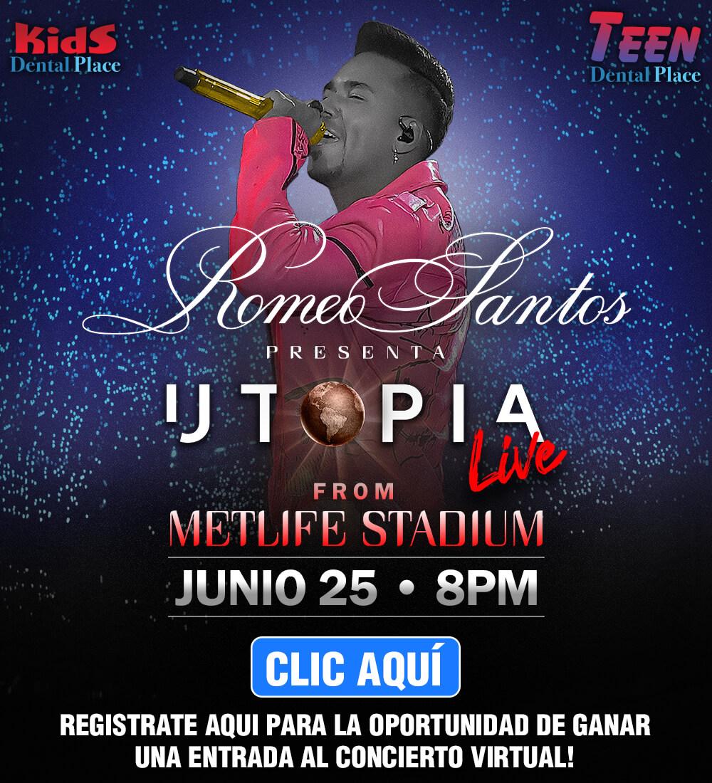 Gana entradas para el concierto virtual de Romeo Santos