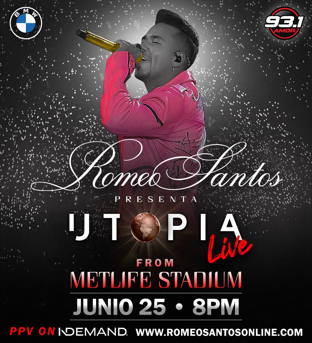 Romeo Santos presenta Utopia Live