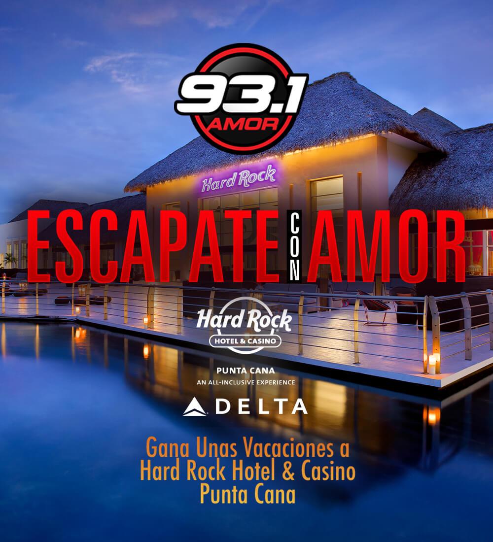 Escapate con Amor al Hard Rock Hotel & Casino Punta Cana