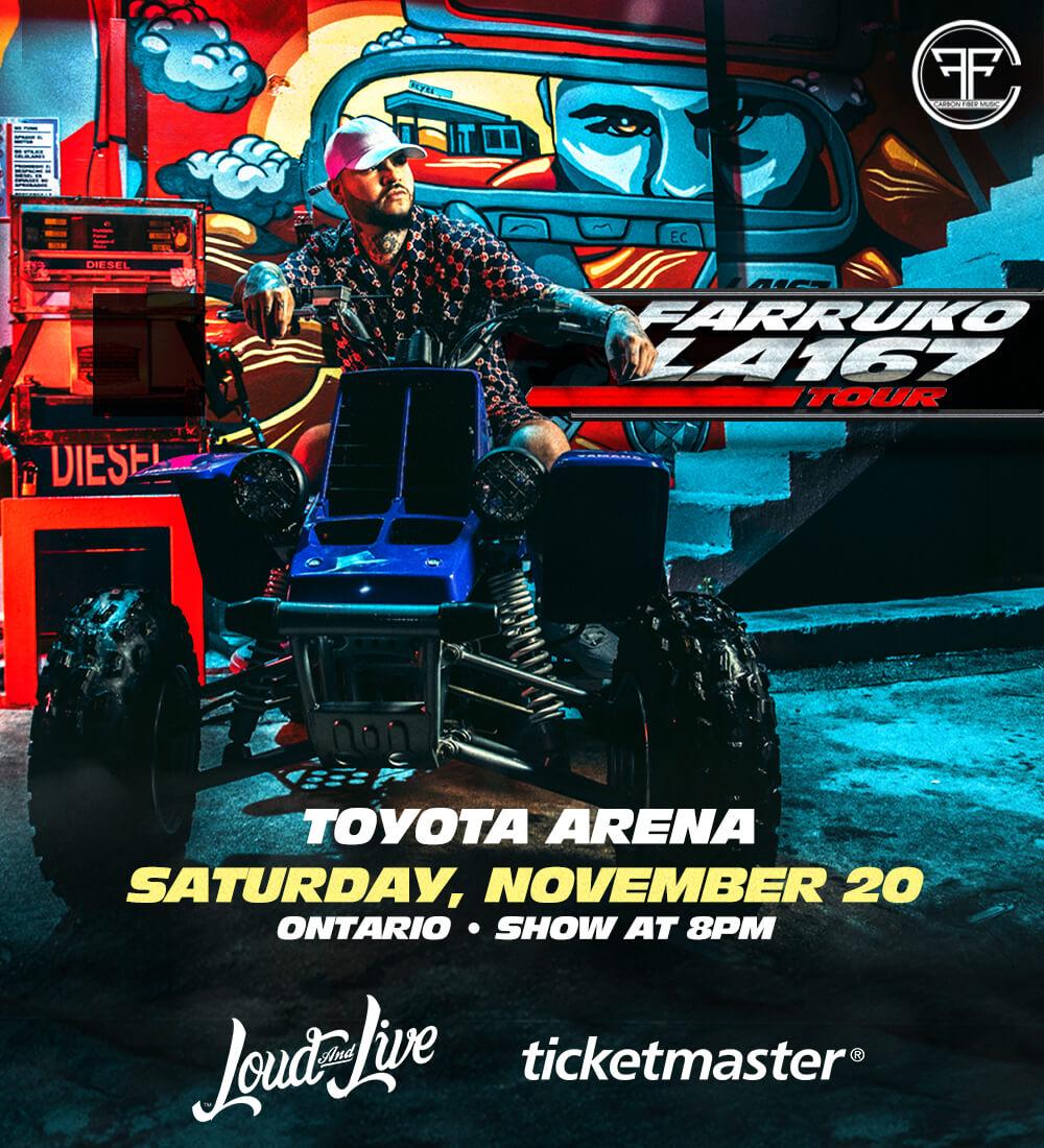 Farruko en vivo en el Toyota Arena
