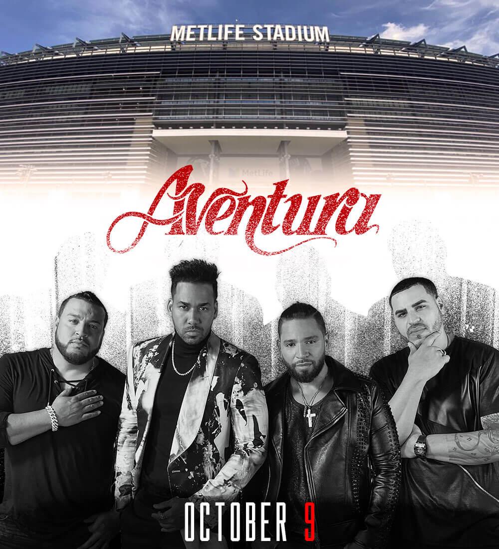 Aventura LIVE @ MetLife Stadium