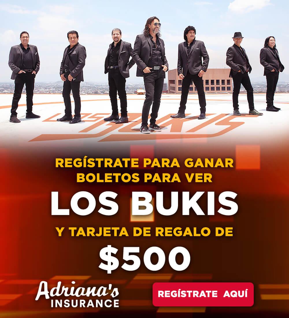 ¡Regístrate para ganar boletos para Los Bukis más $500!