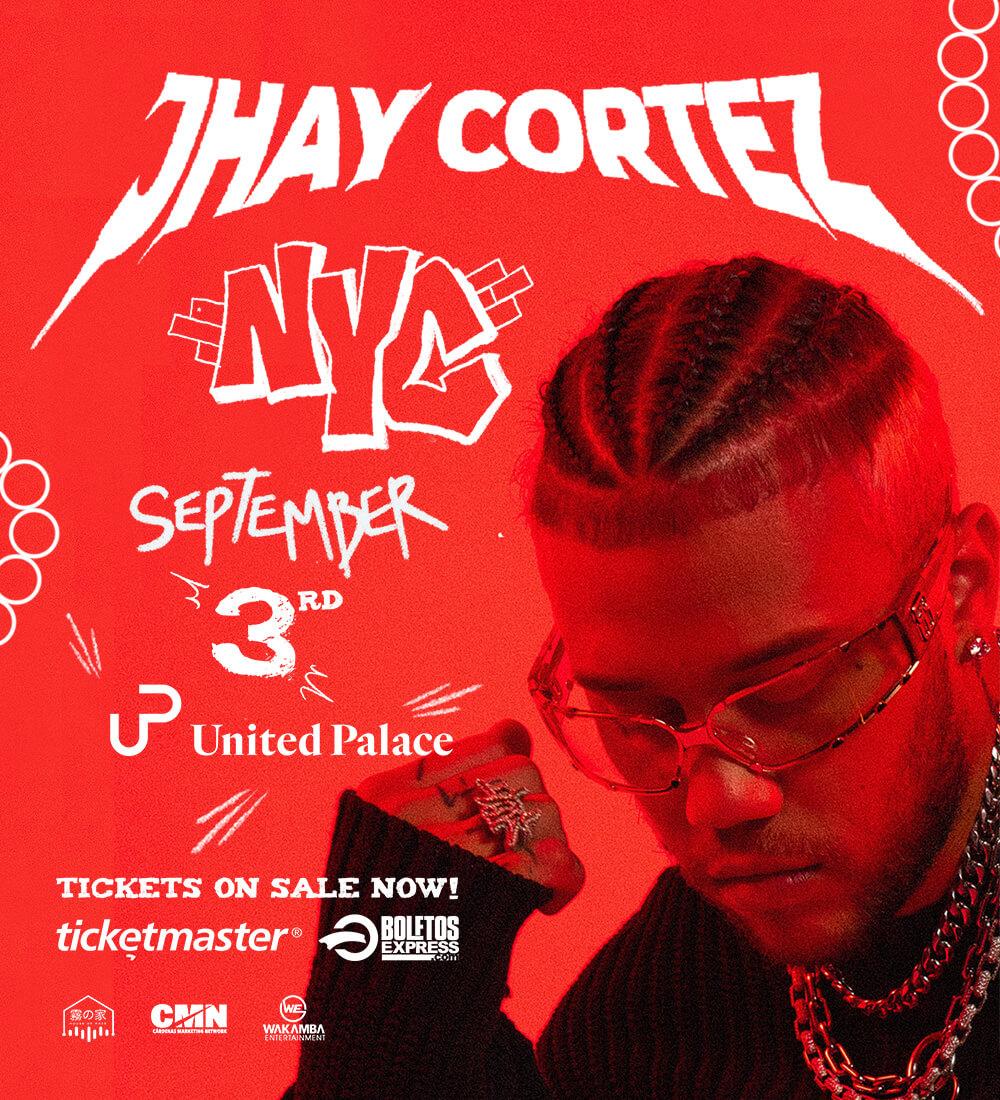 Te Llevamos a ver a Jhay Cortez en el United Palace