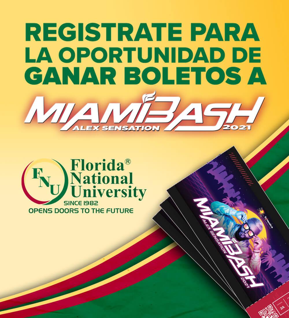 Gana Boletos para Miamibash con FNU
