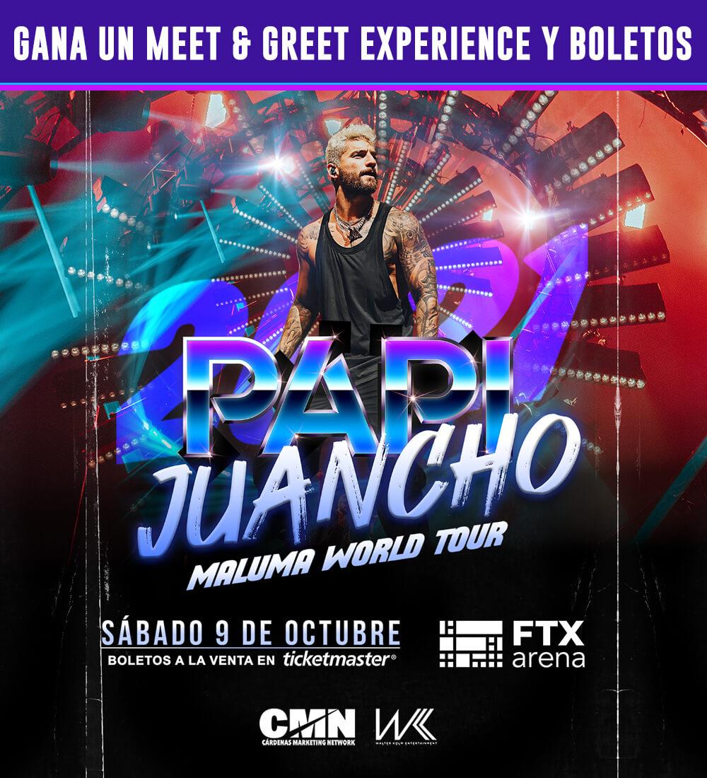 Gana Boletos y Un Meet & Greet con Maluma