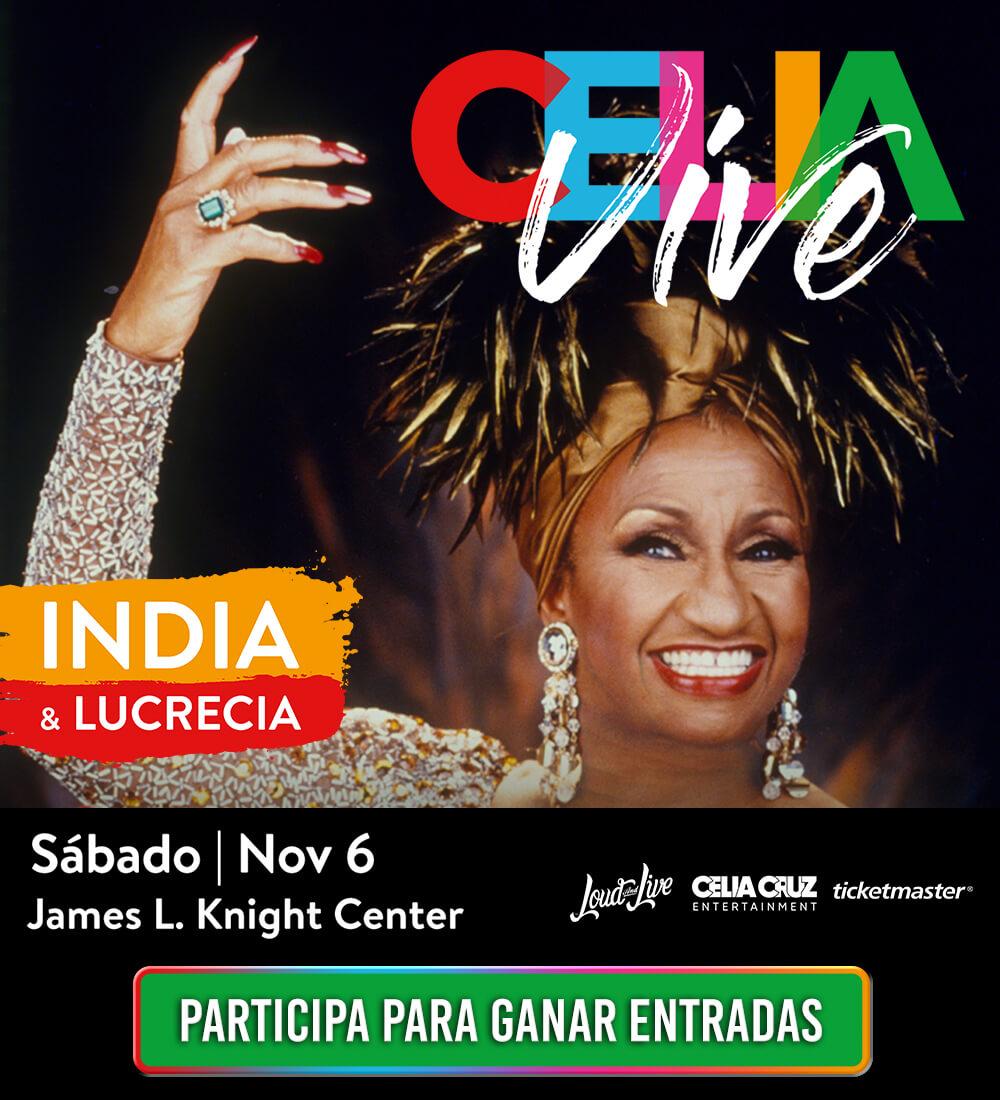 Celia Live!  Registrate Aqui