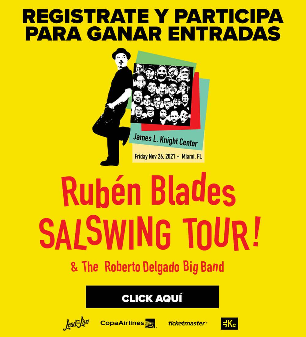 Ruben Blades Salswing Tour