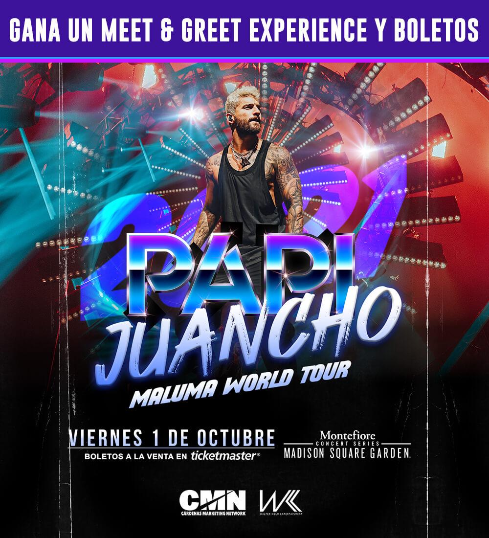Gana un Meet and Greet con Maluma!