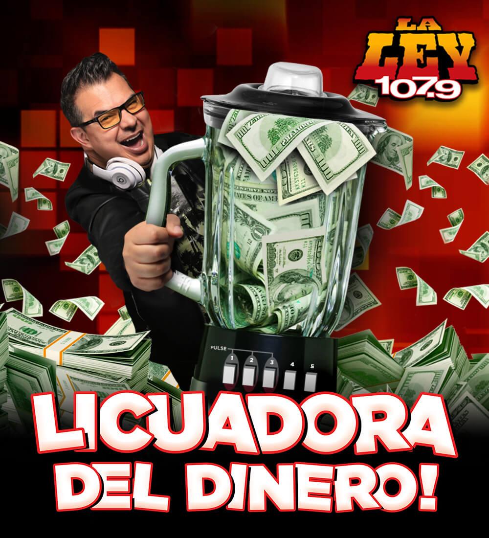 ¡Gana hasta 25 mil dólares con La Licuadora del Dinero!
