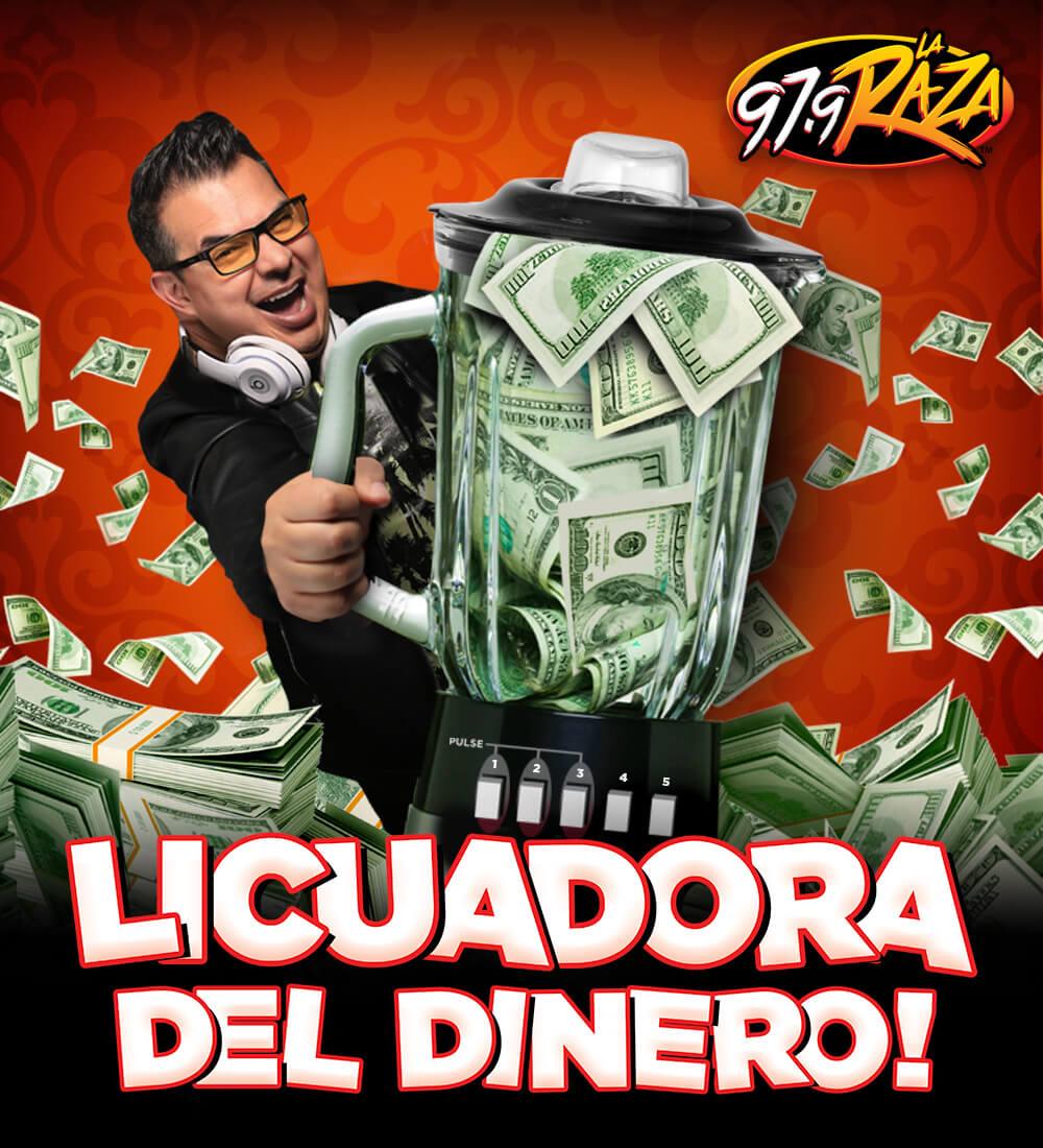 Gana hasta 25 mil dólares con La Licuadora de La Raza