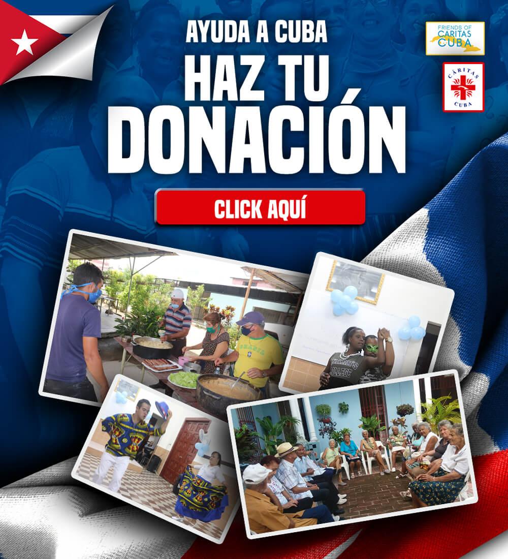 Ayuda a Cuba Haz Tu Donación
