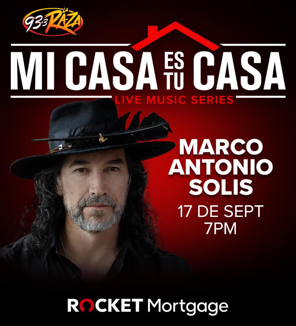 Mi Casa es tu Casa: Marco Antonio Solis