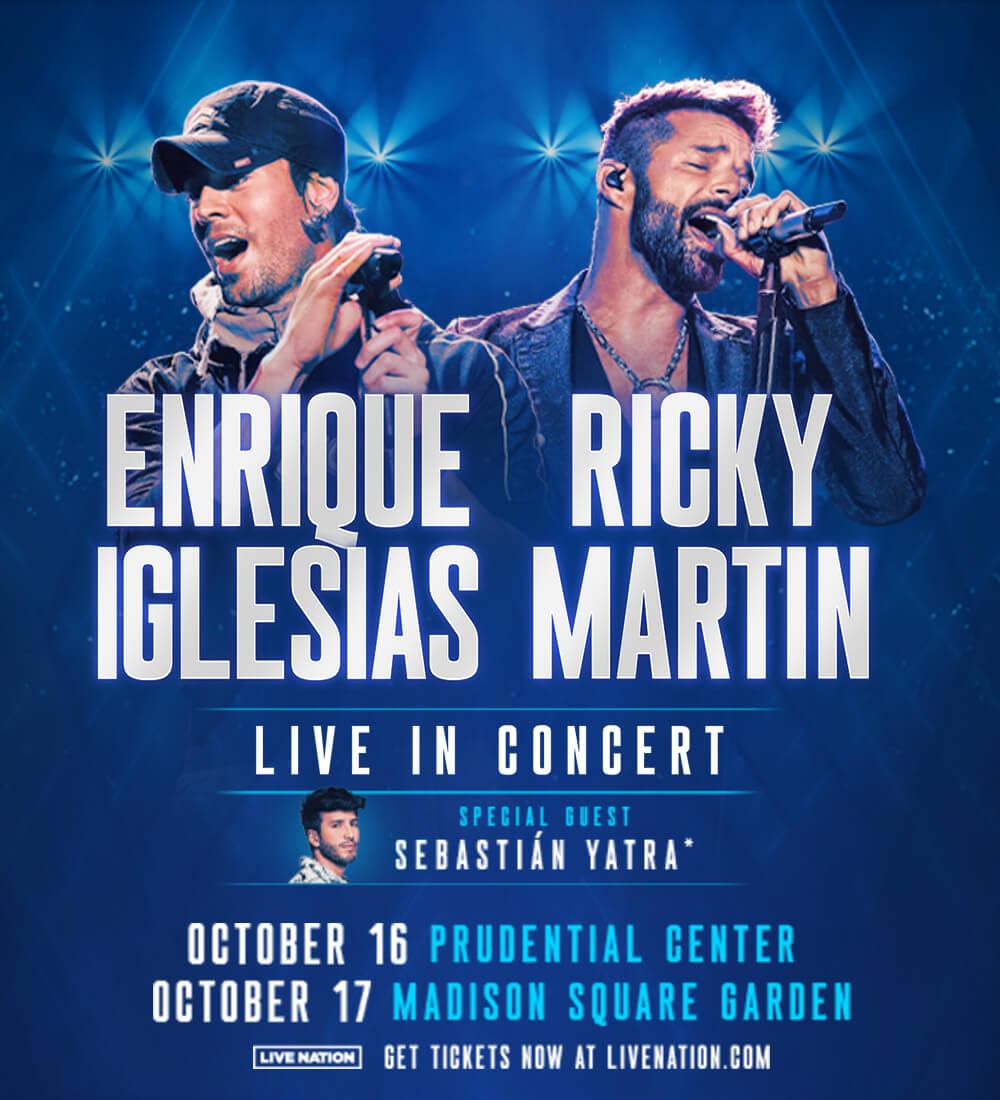 Ricky Martin y Enrique Iglesias En Vivo!