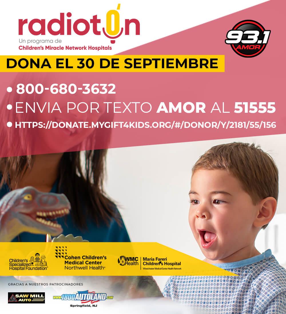 """Radioton """"Amor Para Los Niños"""""""
