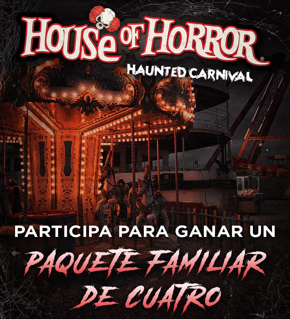 Gana entradas para House of Horror