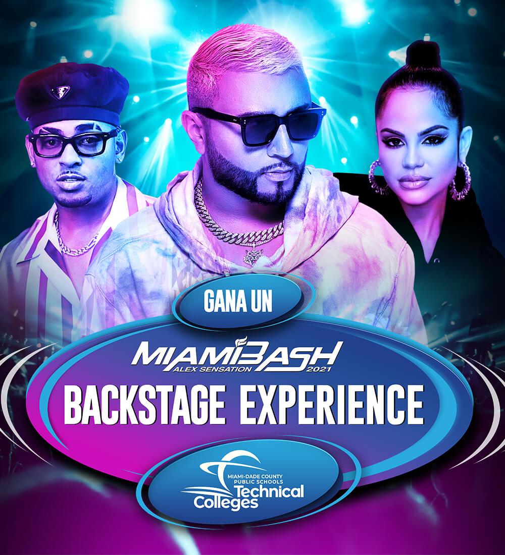 MiamiBash Backstage Experience