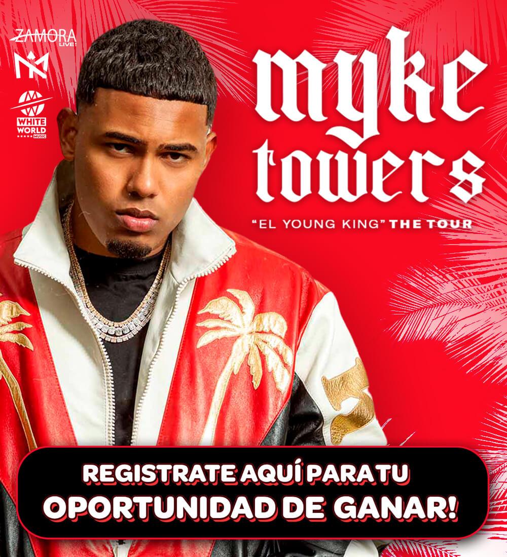 Myke Towers en Concierto