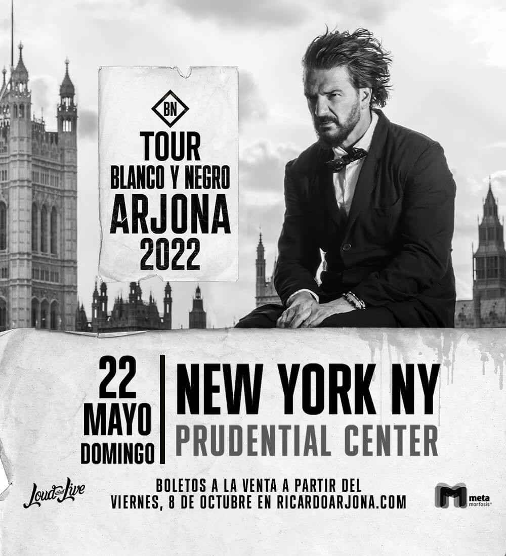 """Ricardo Arjona """"Blanco y Negro"""" Tour"""
