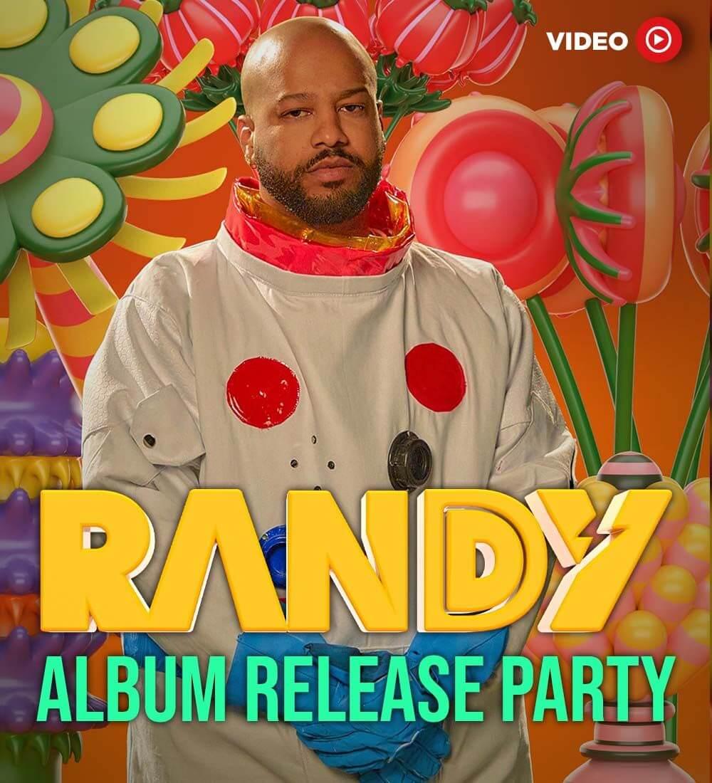 Randy Nota Loca - Lanzamiento de Album
