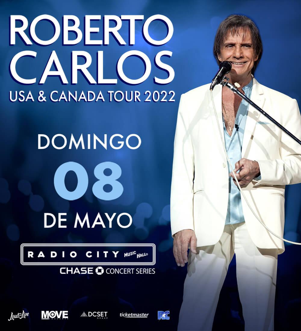 Roberto Carlos en Radio City Music Hall