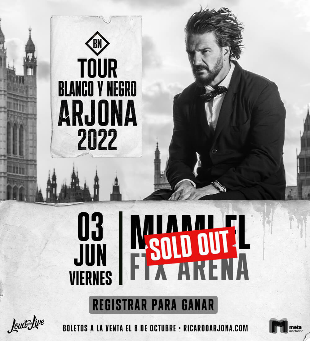 Ricardo Arjona Tour - Miami