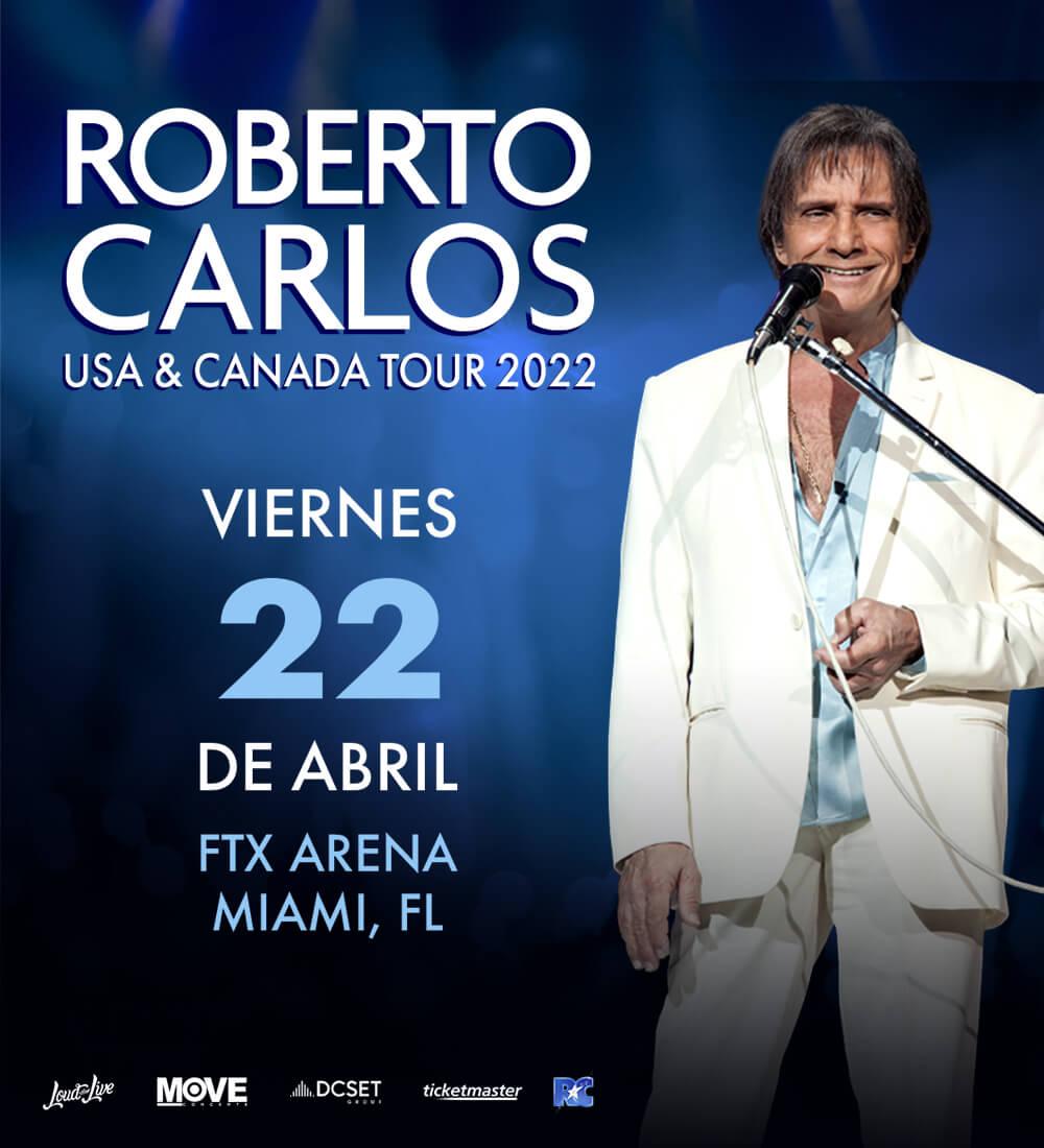 Roberto Carlos en Concierto